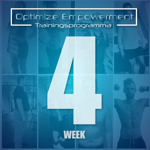 Optimize Empowerment week 4
