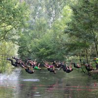 On Your Marks - Obstacle run - touwbrug